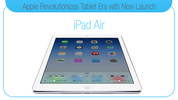 Apple Revolutionizes Tablet Era with New Launch: iPad Air