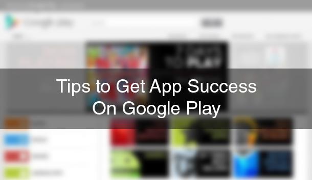 App Success on Google Play