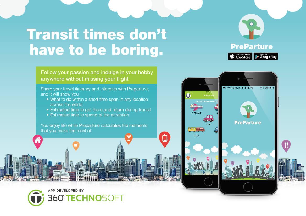Preparture Travel App