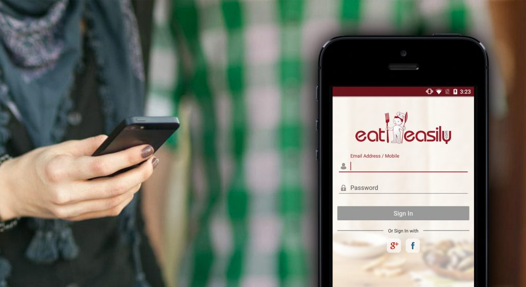 Mobile Application That Helps You Eat Easily