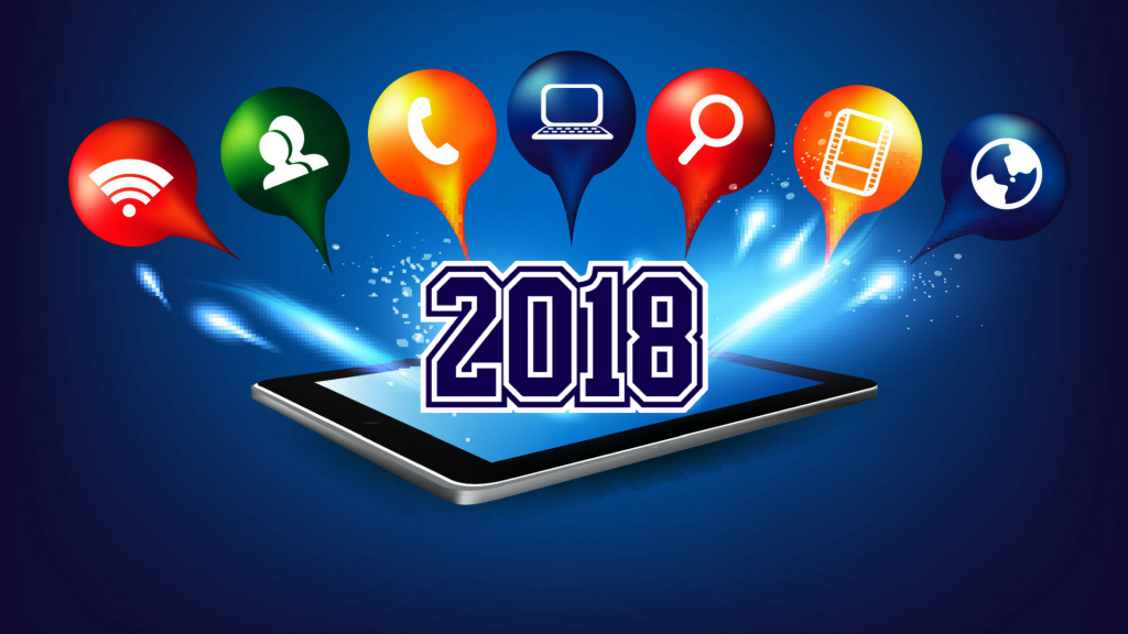 mobile app development trends of 2018