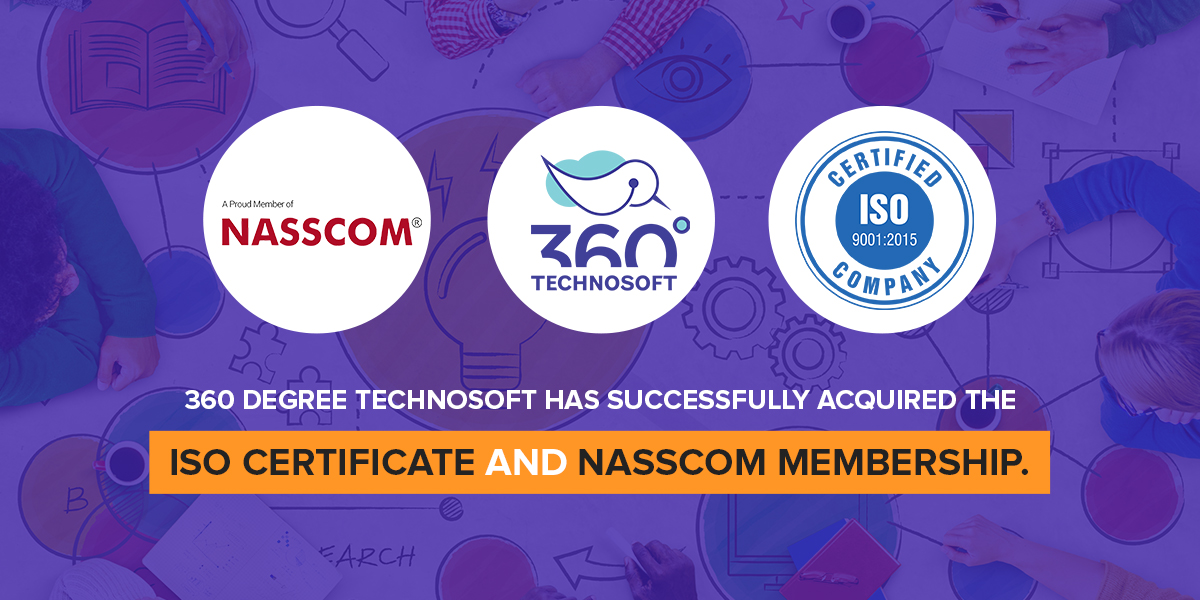 M360 Degree Technosoft Is Now ISO Certified And Member Of NASSCOM