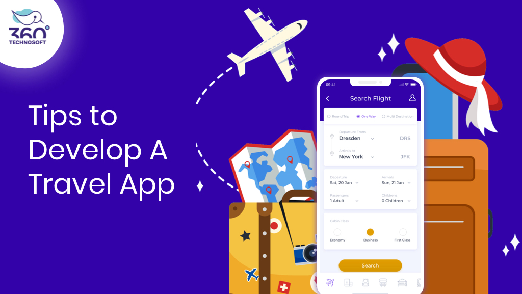 Step by Step Guide on Travel App Development