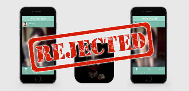 reasons for app rejections in app store